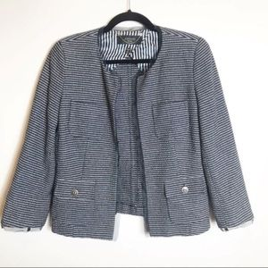 Weekend MaxMara Navy and White Jacket